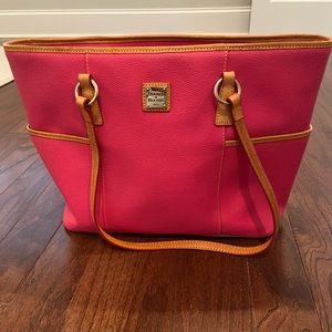 Doony and bourke pink bag